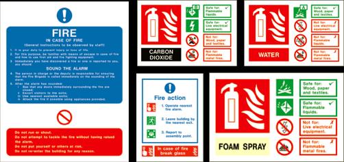 Fire Extinguisher ID's
